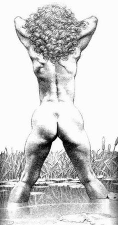 Illustration by Frank Frazetta | Fantasy art #Erotic @deFharo