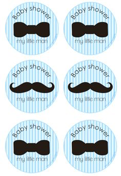 We Heart Parties: Free Printables Little Man Baby Shower Free Printables Deco Baby Shower, Baby Shower Cakes For Boys, Cheap Baby Shower, Baby Shower Decorations For Boys, Boy Baby Shower Themes, Baby Shower Cupcakes, Baby Shower Games, Baby Shower Parties, Baby Boy Shower