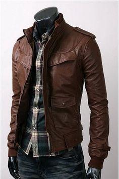 Leather again