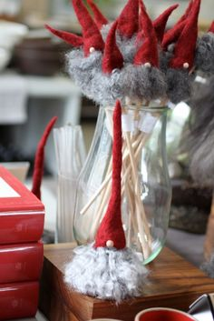 Christmas Gnomes from Sweden for Heath Ceramics