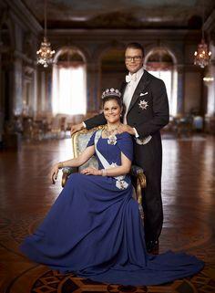 ferzamb:  Crown Princess Victoria and Prince Daniel.