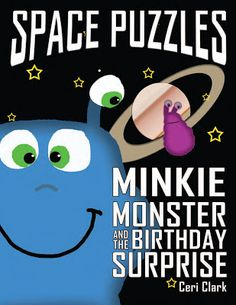 Pam's Book Reviews: Minkie Monster and the Birthday Surprise by Ceri C...