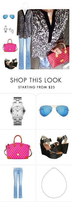 """Untitled #2297"" by elia72 ❤ liked on Polyvore featuring Marc by Marc Jacobs, Ray-Ban, Dooney & Bourke, Frame Denim and Belk & Co."
