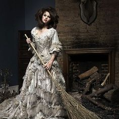 Selena Gomez as Cinderella. I love the artistic integrity and the way the coliors match the story.