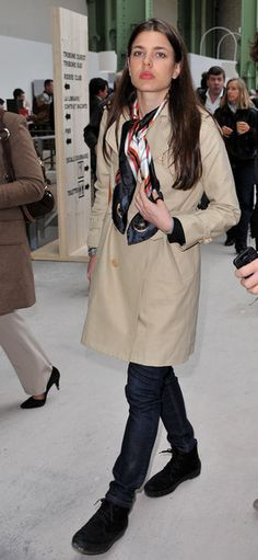 "Charlotte Casiraghi Photo - Equestrian Event The ""Saut Hermes"" At The Grand Palais"