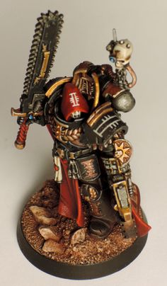 Page 20 of 22 - Word Bearers...plus allies. B&C Marine 7/11/17 - posted in + WORKS IN PROGRESS +: Absolutely wonderful! Those freehands are amazing! Love the white chain!