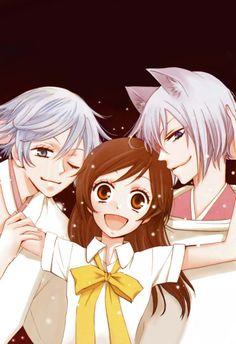 Tomoe, Nanami and Mizuki, Kamisama Hajimemashita