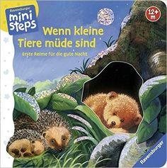 Wenn kleine Tiere müde sind: Erste Reime für die gute Nacht. Ab 12 Monaten ministeps Bücher: Amazon.de: Sabine Cuno, Ana Weller: Bücher