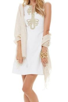 Lilly Pulitzer Janice Shift Dress in Resort White