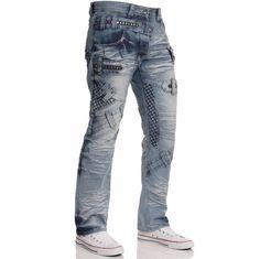 Eto Para Hombre de Diseñador azul ácido lavado a la piedra Informal Denim Regular Fit Jeans Cónicos | Clothes, Shoes & Accessories, Men's Clothing, Jeans | eBay!