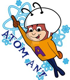 Atom Ant - My favorite cartoon series as a child Famous Cartoons, Retro Cartoons, Old Cartoons, Vintage Cartoon, Classic Cartoons, Cartoon Art, Classic Cartoon Characters, Cartoon Tv Shows, Favorite Cartoon Character