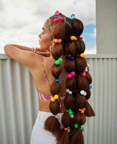 Baddie Hairstyles, Black Girls Hairstyles, Cute Hairstyles, Braided Hairstyles, Hair Inspiration, Hair Inspo, New Hair, Your Hair, Curly Hair Styles