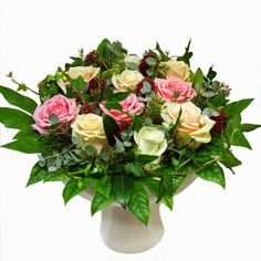 Floral Wreath, Wreaths, Bridal, Pink, Beautiful, Design, Flower Crowns, Rose, Door Wreaths