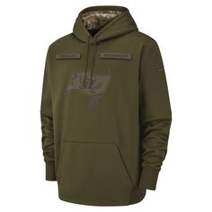 Nike Therma Salute to Service (NFL Buccaneers) Big Kids  Hoodie Size S  (Olive) 69d1b7d25