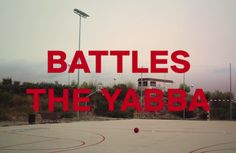 It's a cryptic video for Battles track 'The Yabba'