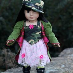 Tokyo Street Fashion for American Girl Doll by foxandfamily,