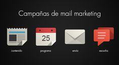 Desarrollamos campañas de email marketing | Deja que te conozcan! #minimalpost