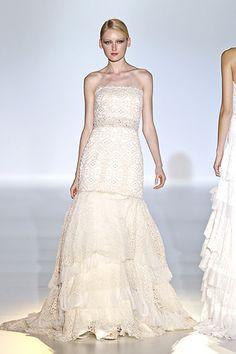 Robes de mariées : focus sur les nouvelles collections #printempsété2014, défilé #Cabotine #bridal #wedding #weddingdress