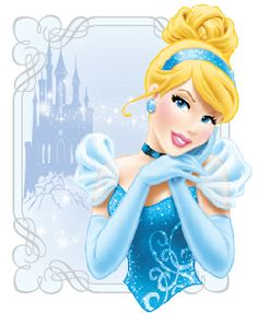 Images of Cinderella from the film.