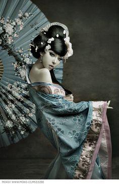 Asia,Asian,Beauty,Digital art,Fantasy,Fashion,Fashion photography,Girl,Kimono,Sweet,