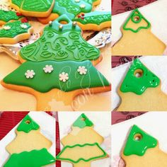 No solo cupcakes... con Mara : GALLETAS NAVIDEÑAS DECORADAS CON GLASA Y FONDANT