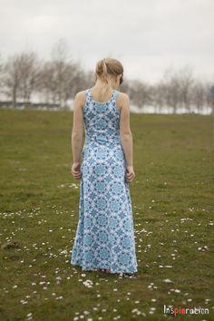 Girls uptown/downtown maxi dress