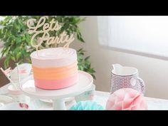 Vídeo-receta: Tarta de fiesta