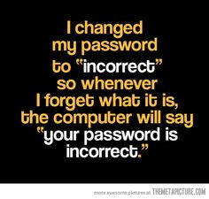 funny password!