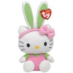 Hello Kitty beanie baby.... My princess loves Hello Kitty!