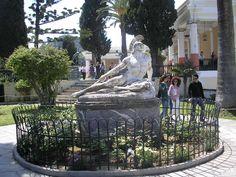 corfu achillion Corfu Greece
