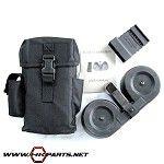 100 Round Drum System For AR-15's & M16's - KCI Drum Magazine, Mini 14, Shooting Accessories, Firearms, Shotguns, Hand Guns, Weapons, Steel, Man Stuff
