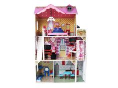 The Eva – Dolls house 1 Large Dolls House, Kids Trike, Shipping Date, Dollhouses, Home Decor, Decoration Home, Doll Houses, Interior Design, Home Interior Design