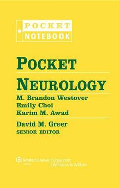 Pocket Neurology (Pocket Notebook Series) by David M. Greer MD. $37.00