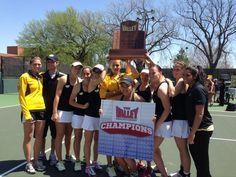 The Wichita State Women claim the 2013 Team Tennis Championship!
