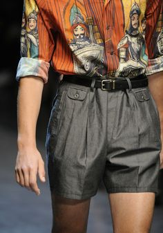 Dolce and Gabbana menswear s/s 2013.  ...that shirt.