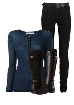 Abby Griffin by inspiredoutfitsfandoms on Polyvore featuring polyvore fashion style T By Alexander Wang McQ by Alexander McQueen Aerosoles Barneys New York clothing