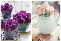 Tea party wedding