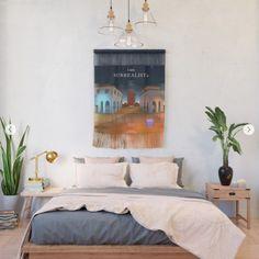 Golden Circle Mandala Pattern Wall Hanging by zeichenbloq Wall Patterns, Wall Design, Decor, Bedroom Decor, Home, Dorm Decorations, Wall, Wall Hanging, Home Decor