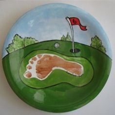 golf. Good idea for my pottery stuff