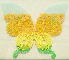 秋模様の蝶 切り絵 完成 の画像|コトコト切り絵中