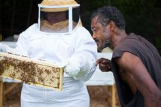 "Black Beekeepers Are Transforming Detroit's Vacant Lots Into Bee Farms - ""Work hard, stay bumble"" is their nonprofit motto."
