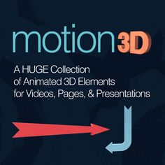 is a huge collection of animated elements in different categories that marketers can use for your videos, pages, and presentations. All the elements are in full HD and available in both MOV and GIF formats. Cool Things To Make, How To Make, Things To Sell, Video Page, You Videos, Meant To Be, Presentation, Animation, 3d