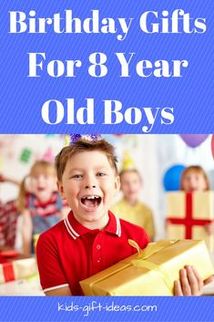 Gift Idea For 8 Year Old Boys Christmas Birthdays