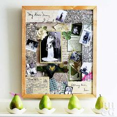 Preserve the past with these creative shadowboxes.
