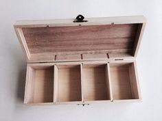 355181 - Cutie lemn dreptunghiulara cu 4 compartimente - ANT-CH › Complex Art Timisoara