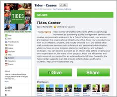 Facebook Causes is a tool that allows non-profits to develop campaigns on Facebook and can be a successful way to attract new donors, raise money and share information about volunteering opportunities. Causes have built free, customizable fundraising pages that integrate with Facebook.