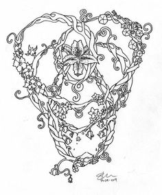 Celtic Knot of Motherhood - floral peggywilliams - click image for more like this -