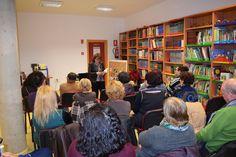 Encuentro con Fina Casalderrey en la Biblioteca Pública Municipal de La Haba