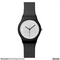 Minimalist Watches, minimalism, zen, architect, architecture,  design, cool, style, unique, gift