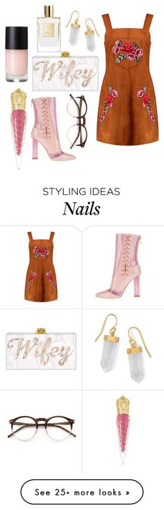 """""""Untitled #1918"""" by sv-c on Polyvore featuring Boohoo, Wildfox, BillyTheTree, Christian Louboutin, thevoice and YahooView"""